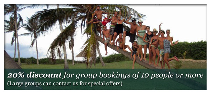 Accommodation Special for Groups